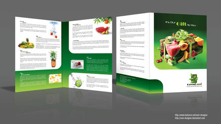 Flyer green by solo-designer