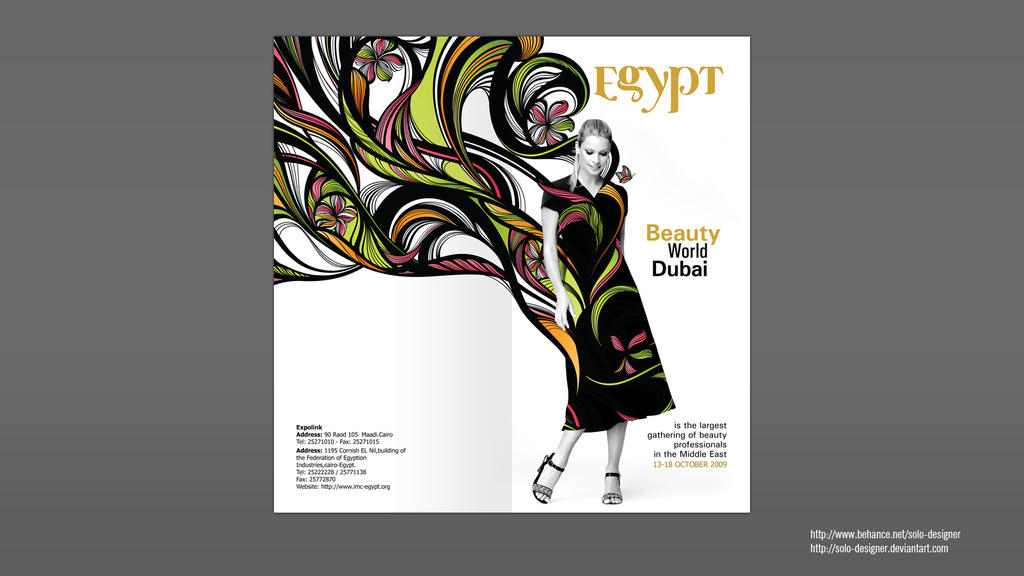 Beauty World Flyer by solo-designer
