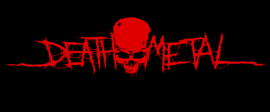 Death Metal - logo by Tonito292 on DeviantArt