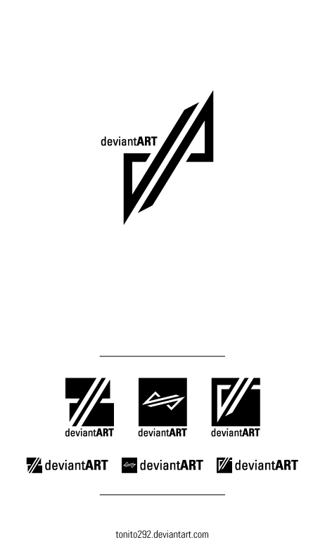 dA logo entry by Tonito292