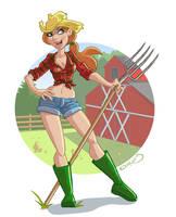 Farm Girl by Hackman23