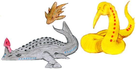 Darwin IV Creatures - Color by AlbertoGR