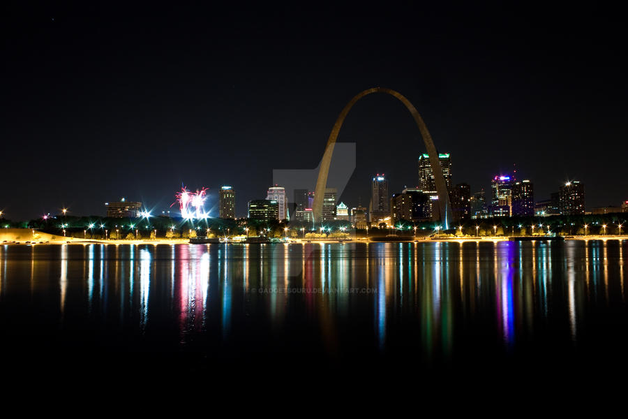 St. Louis skyline by gadgetsguru