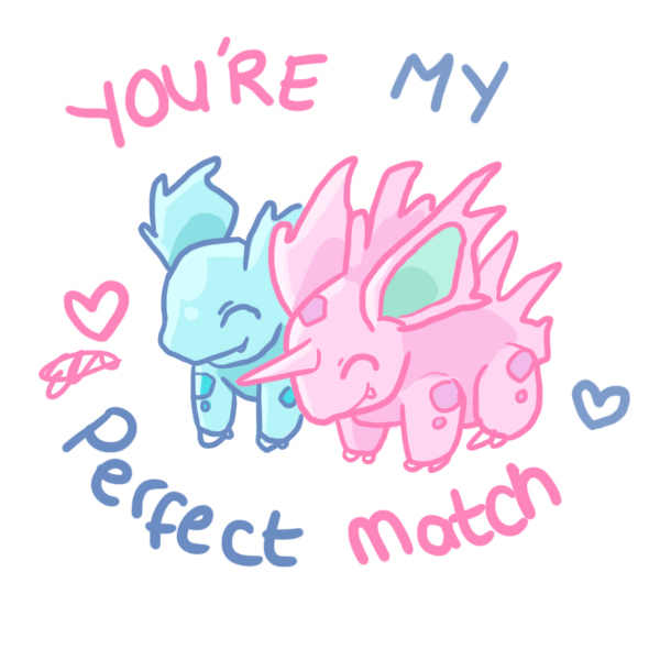 30 and 33 Nidorina and Nidorino by Moo-feeler