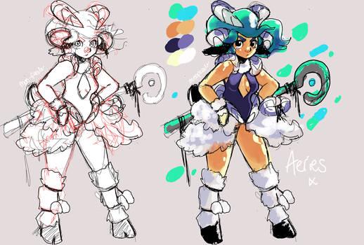 Aeries - Armour design