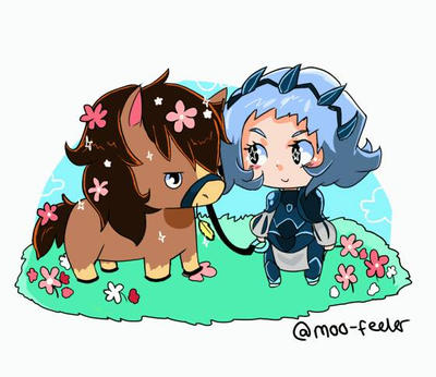 Sophie and Avel by Moo-feeler