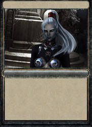 Drowcharacter outcome as card