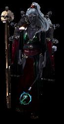 drow priestess png