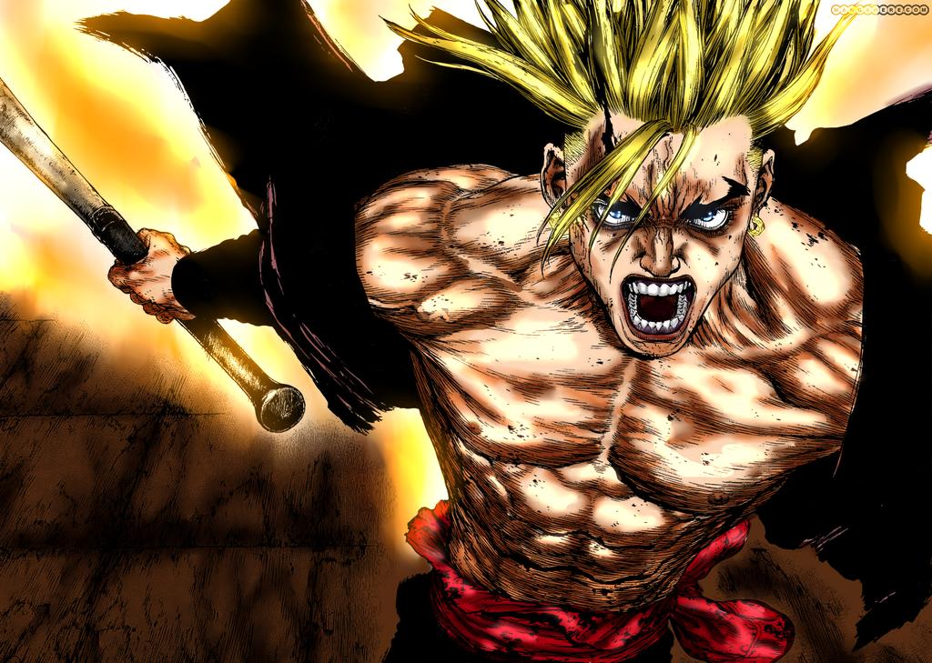Sun-ken Rock - Kens Rage by ShugotenshiX on DeviantArt