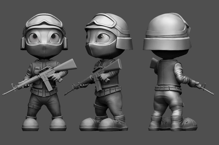 CS:GO Counter Terrorist by Eltzero