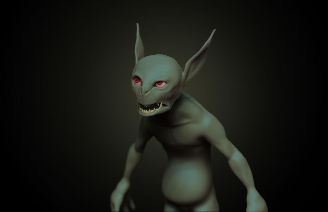 Goblin practice by Eltzero