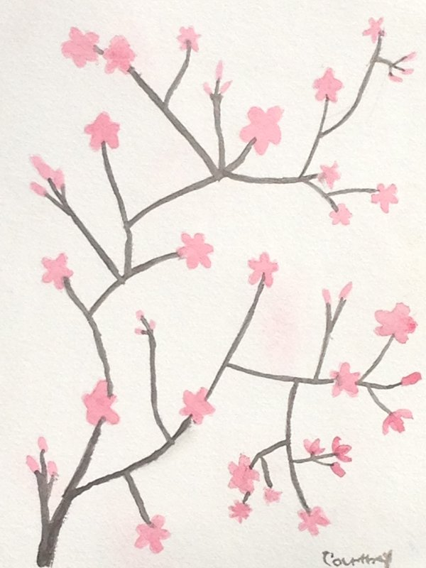 Japanese Cherry Blossoms by Xx-Vintage-Girl-xX