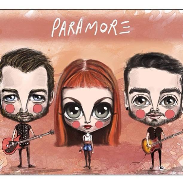 Cartoon Paramore by GirlStyle7599 on DeviantArt Paramore Lyrics