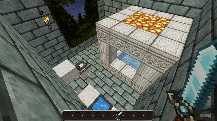 My Minecraft Castle Bathroom By LunaraTDQ