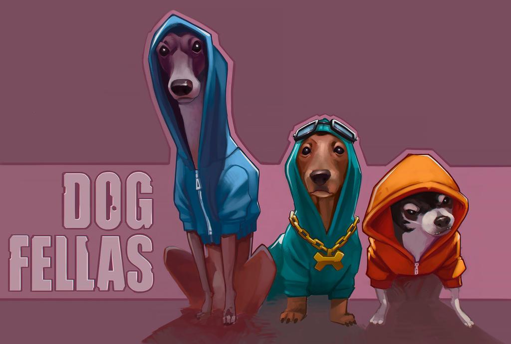 DOG FELLAS by manerarts