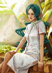 Ritsuko Kunihiro by malbrouk