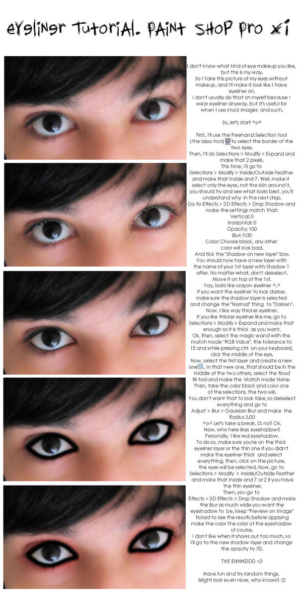 Eyeliner Tutorial by ElsaDinletir