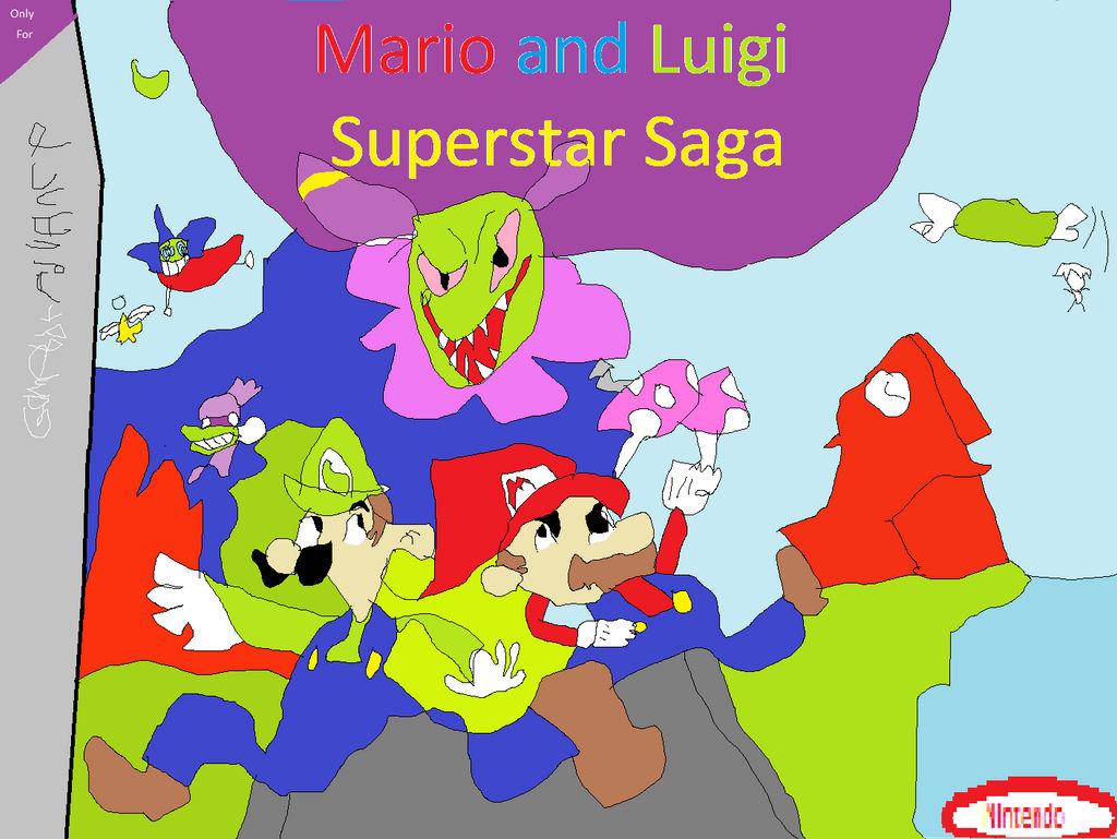 Mario And Luigi Superstar Saga Gameboy Advance By Fazbear1980