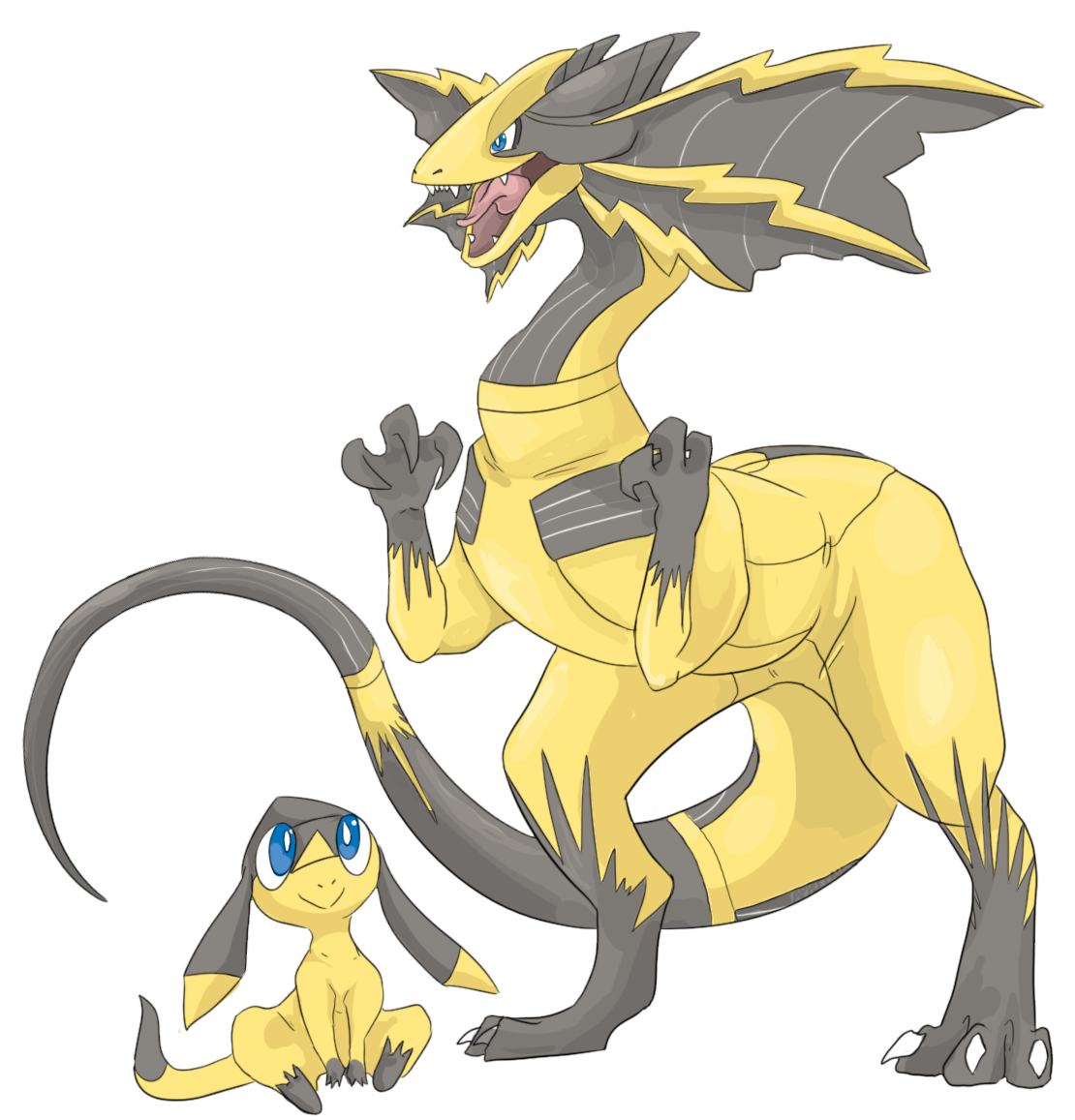 Pokemon coloring pages helioptile -  Img