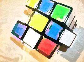Rubik's Cube by Transatlantic405
