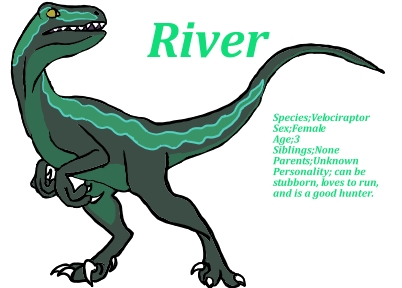 river velociraptor oc by rainhearthemedcat on deviantart river velociraptor oc by