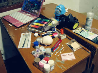 BJD Make-up Work Space by M-Linfa