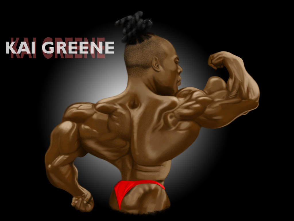 Kai greene by fessa303 on deviantart for Kai greene painting