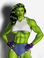 She-Hulk by fessa303