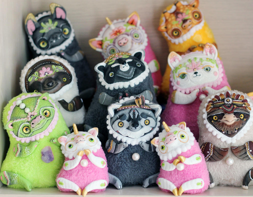 my ooak dolls:) by SoniaMarmeladova
