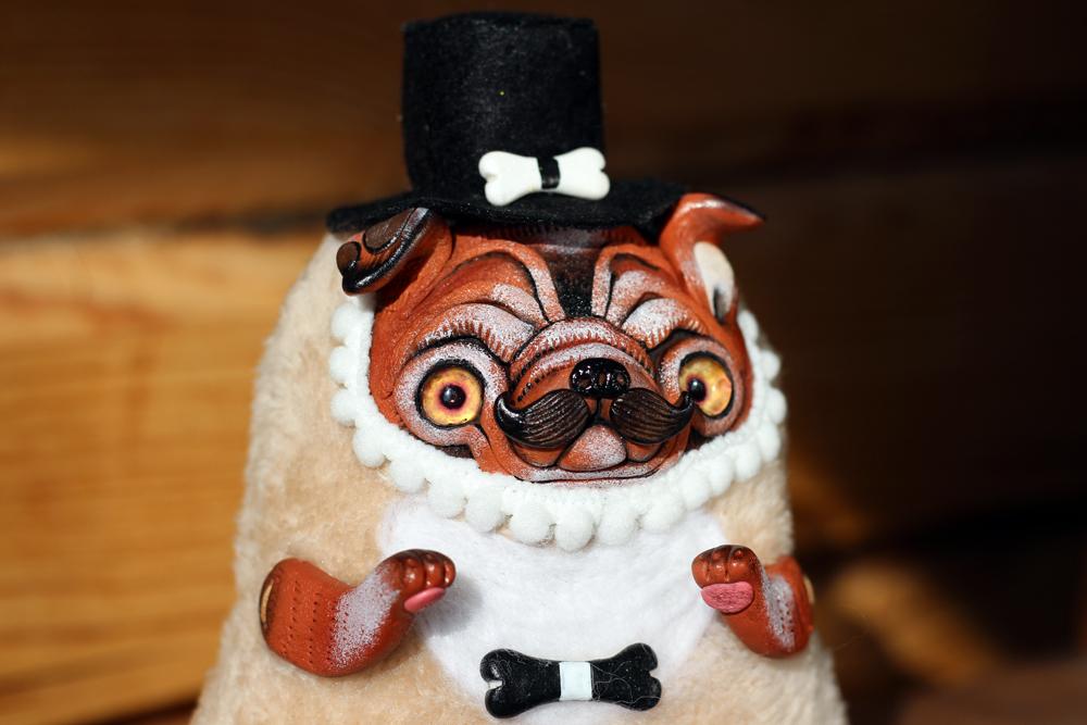 bulldog doll by SoniaMarmeladova