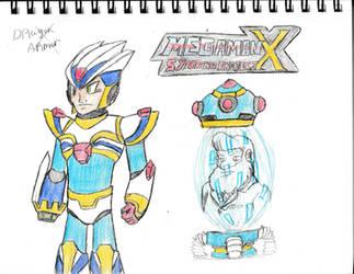 Dragon Armor- Megaman X Synchro Project by GavinDragon