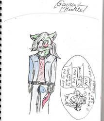 Andrew The Cat by GavinDragon