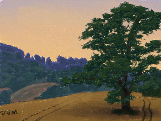 Field Tree by Degama
