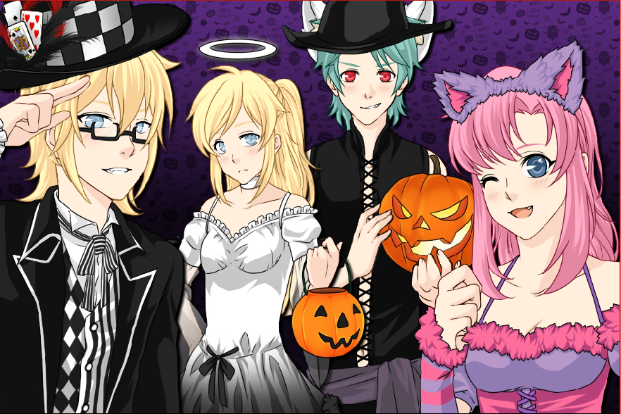 Halloween Wallpaper by XxRedxVioletxRosexX