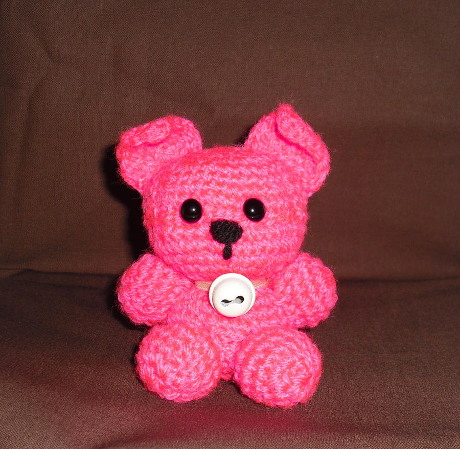 Yellow, Pink and Sparkly: Monica Mouse Pattern