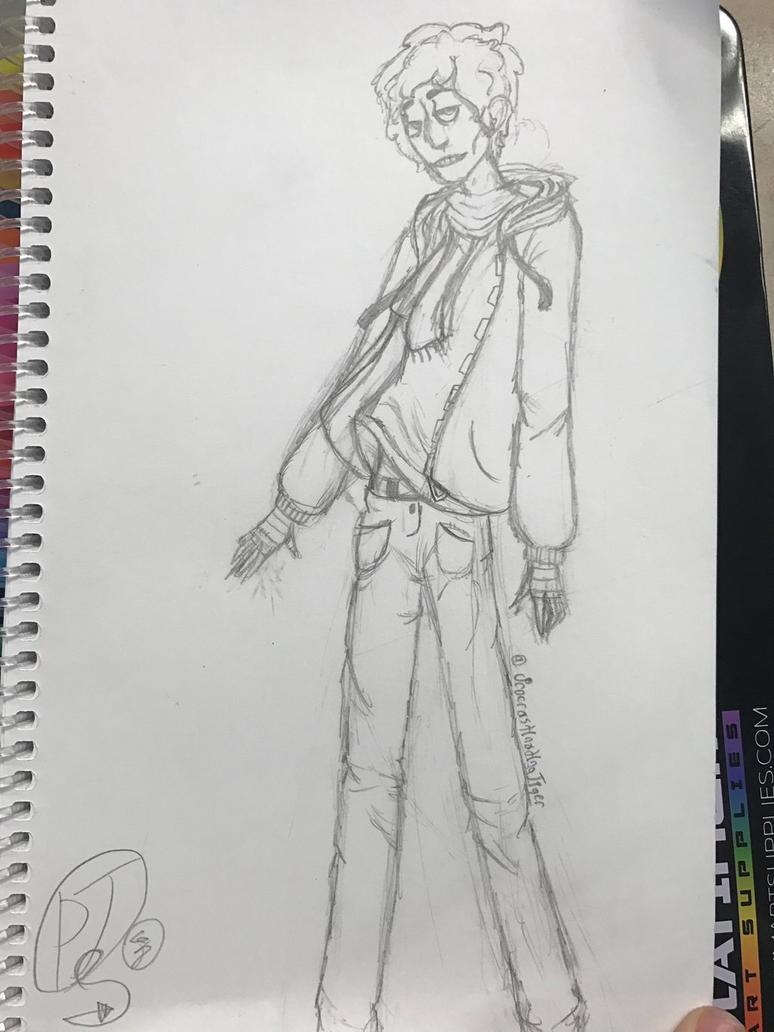 Character sketch by ProcrastinatingTiger