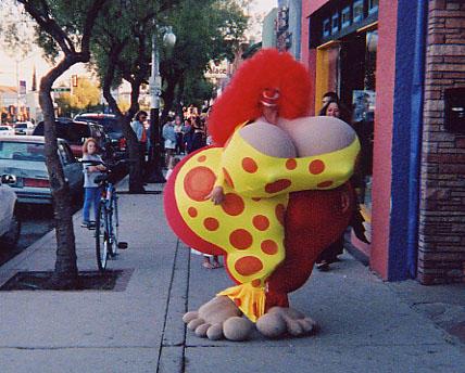 Fannybelle (a.k.a. Bozella) the Clown