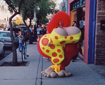 Fannybelle (a.k.a. Bozella) the Clown by SofondaSilicone