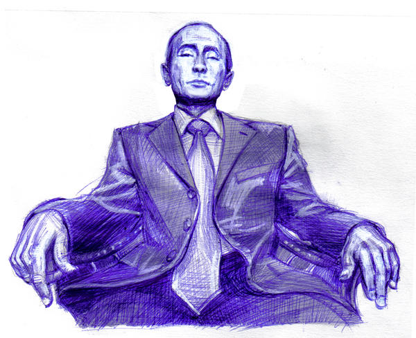 Vladimir Putin by Rollers-Studio