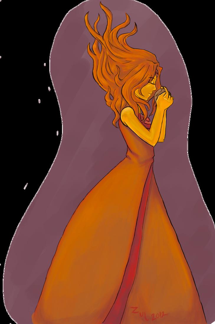Fire kingdom princess by zulwolf