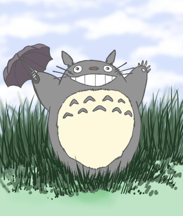 Totoro by sayuriXD