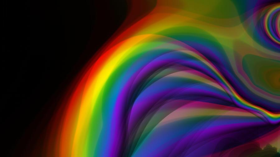 rainbow fractal wallpaper - photo #21