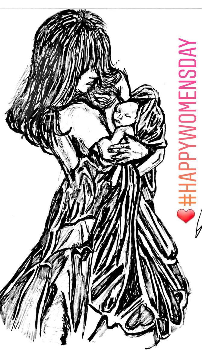 #happy women's day  by komalsihani