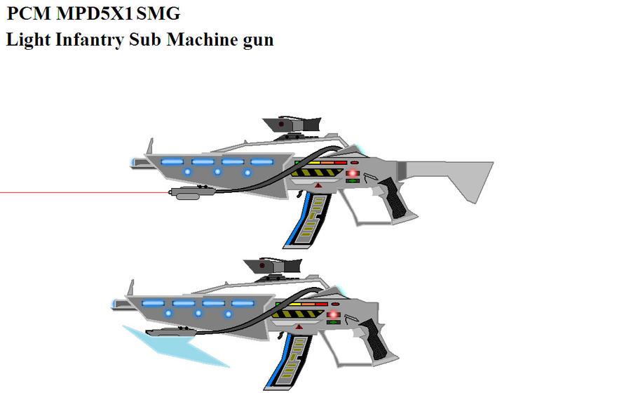 MPD5X1 Plasma SMG by Marksman104