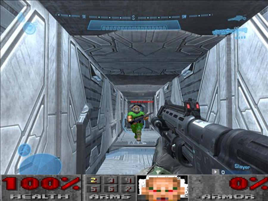 Doom II vs Halo Reach by Marksman104
