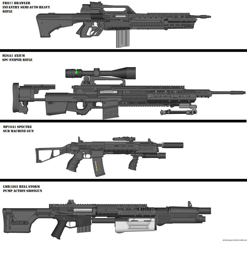 Military Weapon variants JPG 4 by Marksman104