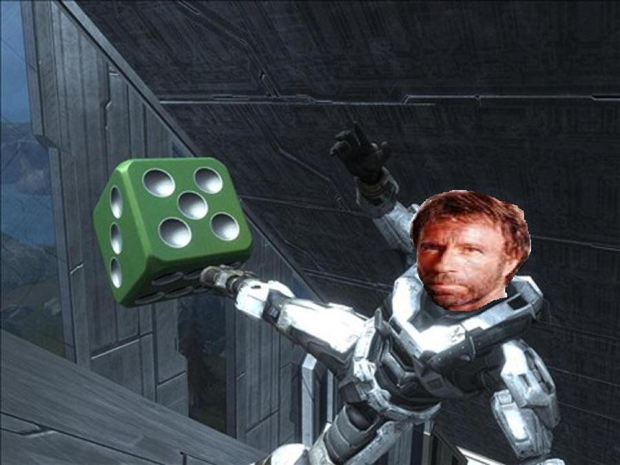 Spartan Chuck Norris by Marksman104