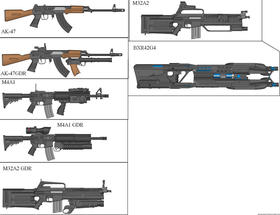 Military Weapon Variants 31 by Marksman104