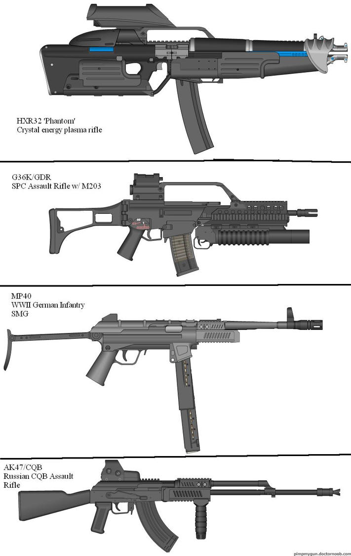 Military Weapon Variants 42 by Marksman104