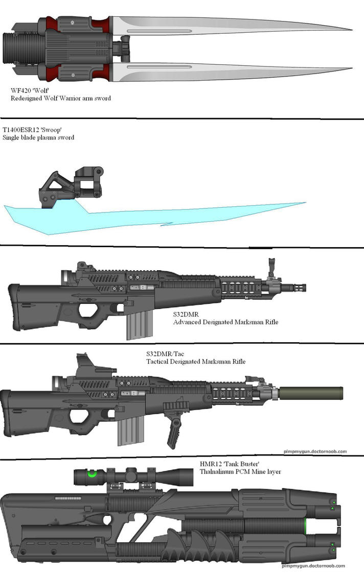 Military Weapon Variants 43 by Marksman104
